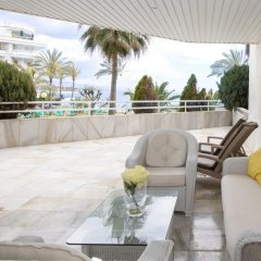Отель Coral Beach Aparthotel 4* Улучшенные апартаменты с различными типами кроватей фото 5