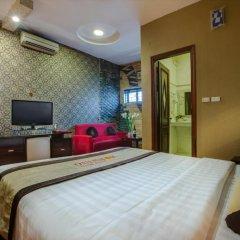Отель Hanoi Morning Hotel Вьетнам, Ханой - отзывы, цены и фото номеров - забронировать отель Hanoi Morning Hotel онлайн комната для гостей фото 4