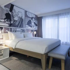 Отель Radisson RED Brussels 4* Люкс с различными типами кроватей фото 4