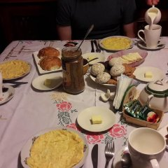 Отель Tina's Homestay питание фото 3