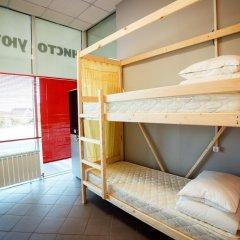 Hostel Lastochka Кровать в общем номере с двухъярусной кроватью фото 5