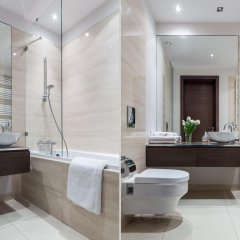 Апартаменты Chopin Apartments Platinum Towers Улучшенные апартаменты с различными типами кроватей фото 2