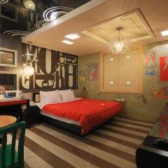 Haeundae Grimm Hotel 2* Номер Делюкс с различными типами кроватей фото 12