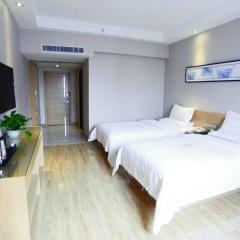 Отель Insail Hotels Railway Station Guangzhou 3* Номер Делюкс с двуспальной кроватью фото 3