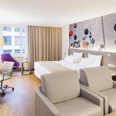 Отель NH Collection Berlin Mitte Am Checkpoint Charlie 4* Стандартный номер с разными типами кроватей фото 29