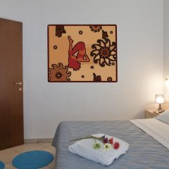 Отель Residence Blu Mediterraneo 2* Апартаменты с различными типами кроватей фото 12