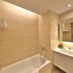 Отель Pan Pacific Serviced Suites Beach Road, Singapore ванная