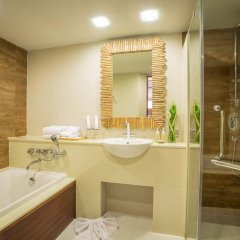 Отель Tup Kaek Sunset Beach Resort 3* Номер Делюкс с различными типами кроватей фото 9