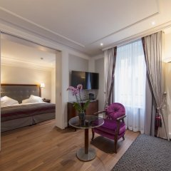 Отель Schweizerhof Zürich 4* Полулюкс с различными типами кроватей фото 4