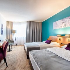 Leonardo Hotel Düsseldorf City Center 4* Номер Комфорт с двуспальной кроватью фото 4