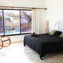 Отель Beachfront Villa комната для гостей фото 5