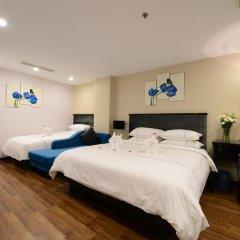 Hanoi Emerald Waters Hotel & Spa 4* Семейный номер Делюкс с двуспальной кроватью фото 7