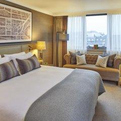 Отель Intercontinental Edinburgh the George 5* Номер Делюкс с различными типами кроватей фото 3