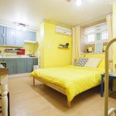 Отель Han River Guesthouse 2* Студия с различными типами кроватей фото 26