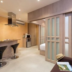 Отель Patong Bay Residence 4* Улучшенный номер с разными типами кроватей фото 4