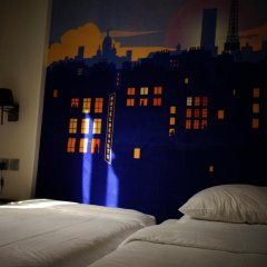 Отель Hôtel Des Arts-Bastille 2* Стандартный номер с различными типами кроватей фото 7