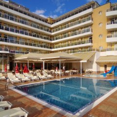 Отель Plamena Palace Болгария, Приморско - 2 отзыва об отеле, цены и фото номеров - забронировать отель Plamena Palace онлайн бассейн фото 3