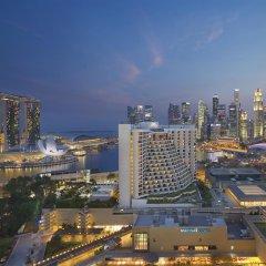Отель Mandarin Oriental, Singapore 5* Люкс Club Marina Bay с двуспальной кроватью фото 2