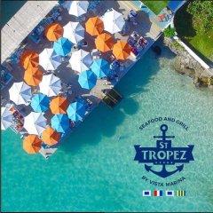 Отель Vista Marina Residence Доминикана, Бока Чика - отзывы, цены и фото номеров - забронировать отель Vista Marina Residence онлайн приотельная территория