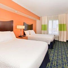 Отель Fairfield Inn And Suites By Marriott Columbus West 3* Стандартный номер фото 4