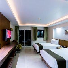 Отель Thanthip Beach Resort 3* Номер Делюкс с двуспальной кроватью фото 11