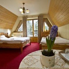 Отель Pensjonat Zakopianski Dwór 3* Стандартный номер с различными типами кроватей фото 3