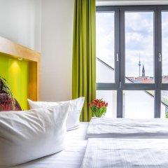 H+ Hotel 4 Youth Berlin Mitte 2* Стандартный номер с двуспальной кроватью фото 3