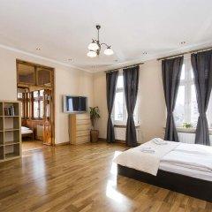 Апартаменты Sopockie Apartamenty - Golden Apartment Сопот комната для гостей фото 3