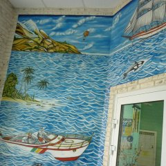 Гостиница Райская Лагуна ванная