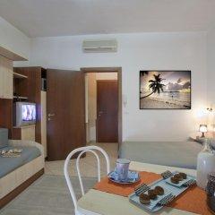 Отель Residence Blu Mediterraneo 2* Апартаменты с различными типами кроватей фото 9