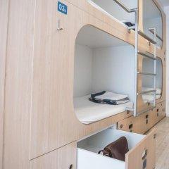 Отель Rocket Hostels Gracia 2* Кровать в общем номере с двухъярусной кроватью фото 4