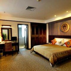 Отель Riyuegu Hotsprings Resort комната для гостей фото 5