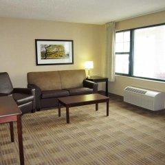 Отель Extended Stay America Elizabeth - Newark Airport США, Элизабет - отзывы, цены и фото номеров - забронировать отель Extended Stay America Elizabeth - Newark Airport онлайн комната для гостей фото 7