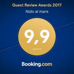 Гостиница Nido al mare спортивное сооружение