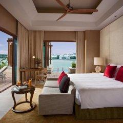 Отель Resorts World Sentosa - Beach Villas 5* Вилла с различными типами кроватей фото 5