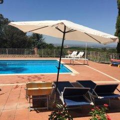Отель Al Pino B&B Италия, Гроттаферрата - отзывы, цены и фото номеров - забронировать отель Al Pino B&B онлайн бассейн фото 3