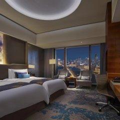 Shangri-La Hotel, Tianjin 5* Номер Делюкс с различными типами кроватей