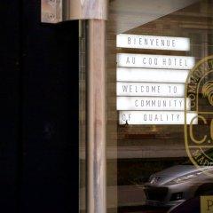 Отель Coq Paris Париж интерьер отеля