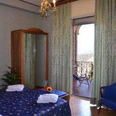 Taormina Park Hotel 4* Стандартный номер двуспальная кровать фото 9