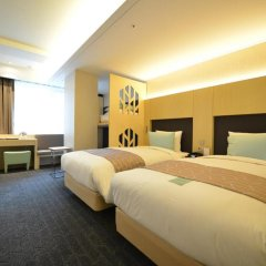 aFIRST Hotel Myeongdong 3* Стандартный семейный номер с двуспальной кроватью фото 6