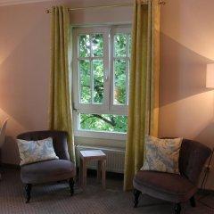 Отель Villa Am Schlosspark 3* Стандартный номер фото 12