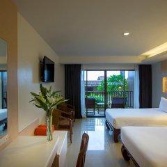 Отель Chanalai Garden Resort, Kata Beach 4* Улучшенный номер с двуспальной кроватью фото 4