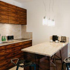 Отель EXCLUSIVE Aparthotel Улучшенные апартаменты с различными типами кроватей фото 24