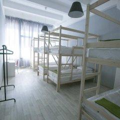 Хостел Bla Bla Hostel Rostov Кровать в общем номере с двухъярусной кроватью фото 8