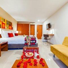 Отель MS Chipichape Superior 3* Улучшенный номер с различными типами кроватей фото 4