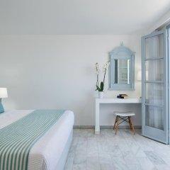 Отель Santorini Kastelli Resort 5* Стандартный номер с различными типами кроватей фото 8