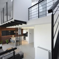 Апартаменты Dom & House - Apartments Waterlane Люкс с различными типами кроватей фото 2