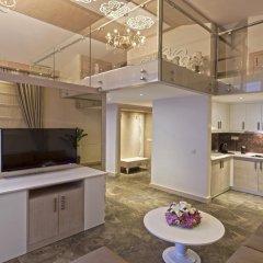 Xperia Saray Beach Hotel 4* Улучшенные апартаменты с различными типами кроватей фото 6