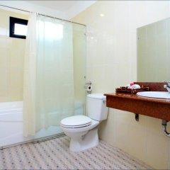 Отель Han Thuyen Homestay 3* Улучшенный номер с различными типами кроватей фото 4