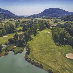 Отель Corfu Glyfada Menigos Resort спортивное сооружение